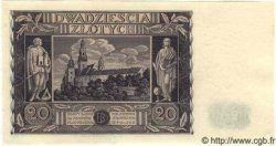 20 Zlotych POLOGNE  1936 P.077 NEUF