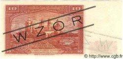 10 Zlotych POLOGNE  1939 P.082s pr.NEUF