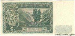 50 Zlotych POLOGNE  1939 P.084 NEUF