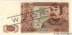 100 Zlotych POLOGNE  1939 P.085s pr.NEUF