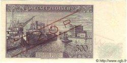 500 Zlotych POLOGNE  1939 P.086s pr.NEUF