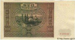 100 Zlotych POLOGNE  1941 P.103 NEUF