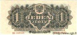 1 Zloty POLOGNE  1944 P.105 NEUF