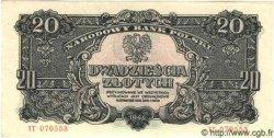 20 Zlotych POLOGNE  1944 P.113a pr.NEUF