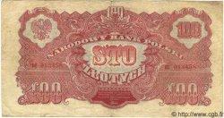 100 Zlotych POLOGNE  1944 P.117a TB+