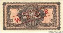 500 Zlotych POLOGNE  1944 P.119as SPL