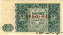 2 Zlote POLOGNE  1946 P.124s pr.NEUF