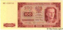 100 Zlotych POLOGNE  1948 P.139a NEUF
