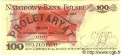 100 Zlotych POLOGNE  1986 P.143b NEUF