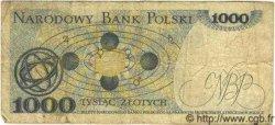 1000 Zlotych POLOGNE  1979 P.146