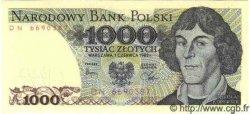 1000 Zlotych POLOGNE  1982 P.146 NEUF