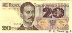20 Zlotych POLOGNE  1982 P.149