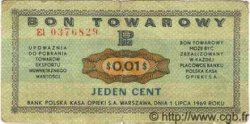 1 Cent POLOGNE  1969 P.FX34 TB