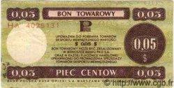 5 Cents POLOGNE  1979 P.FX36 TTB