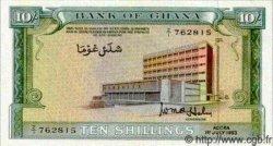 10 Shillings GHANA  1963 P.01c pr.NEUF