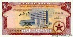 1 Pound GHANA  1959 P.02a pr.NEUF