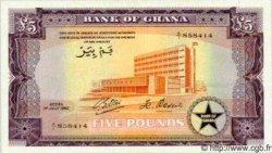 5 Pounds GHANA  1962 P.03 NEUF