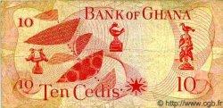 10 Cedis GHANA  1967 P.12 TB