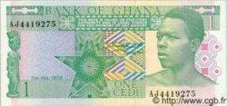 1 Cedi GHANA  1979 P.17 SPL+