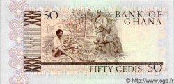 50 Cedis GHANA  1980 P.22b NEUF