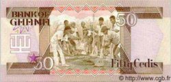 50 Cedis GHANA  1986 P.25 NEUF