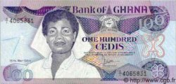 100 Cedis GHANA  1984 P.26 NEUF