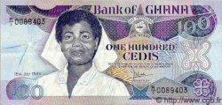 100 Cedis GHANA  1986 P.26 TTB