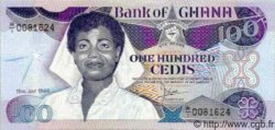 100 Cedis GHANA  1986 P.26 NEUF