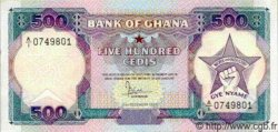 500 Cedis GHANA  1986 P.28