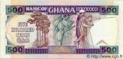 500 Cedis GHANA  1992 P.28c SPL