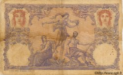 100 Francs MADAGASCAR  1893 P.34 B à TB