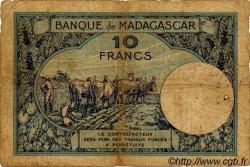 10 Francs MADAGASCAR  1940 P.36 B
