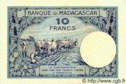 10 Francs MADAGASCAR  1940 P.36 pr.NEUF