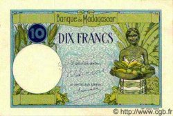 10 Francs MADAGASCAR  1940 P.36s SPL