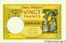 20 Francs MADAGASCAR  1940 P.37s SUP