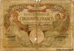 50 Francs MADAGASCAR  1940 P.38 B