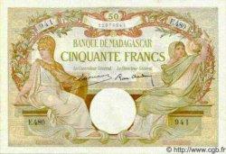 50 Francs MADAGASCAR  1940 P.38 SPL