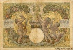 50 Francs MADAGASCAR  1940 P.38 B+ à TB