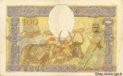 100 Francs MADAGASCAR  1940 P.40 TTB