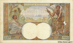 1000 Francs MADAGASCAR  1940 P.41 TB+