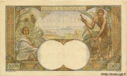 1000 Francs MADAGASCAR  1947 P.41 pr.TTB
