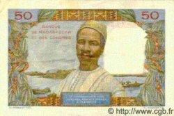 50 Francs MADAGASCAR  1950 P.45a SUP+