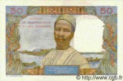 50 Francs/ 10 Ariary MADAGASCAR  1961 P.51b pr.NEUF