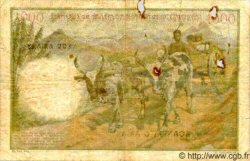 1000 Francs - 200 Ariary MADAGASCAR  1961 P.54 B