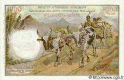 1000 Francs - 200 Ariary MADAGASCAR  1963 P.56as SPL