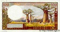 100 Francs/ 20 Ariary MADAGASCAR  1966 P.57s SPL