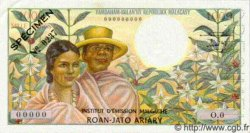 1000 Francs - 200 Ariary MADAGASCAR  1966 P.59s NEUF