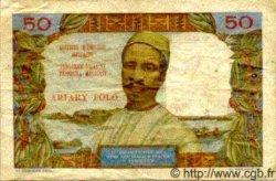 50 Francs/ 10 Ariary MADAGASCAR  1969 P.61 TB