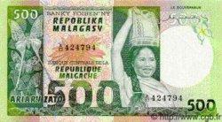 500 Francs/ 100 Ariary MADAGASCAR  1975 P.64 NEUF