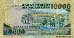 10000 Francs - 2000 Ariary MADAGASCAR  1988 P.74 TB+ à TTB